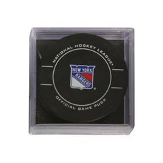 New York Rangers official game puck