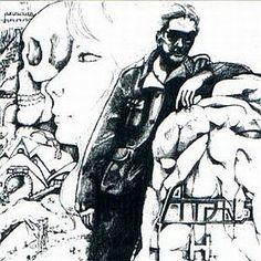 """Aton's: """"H"""", Studio album cover, 1985."""