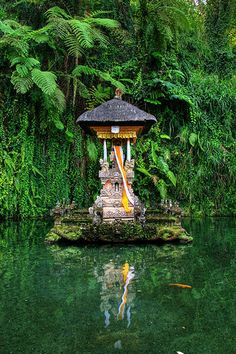 Floating temple by anggara wijaya on Flickr - Ubud, Bali