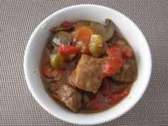 Boeuf africain Mets, Guacamole, Ethnic Recipes, Food, Action, Winter, Green Chilli, Cream Soups, Meat