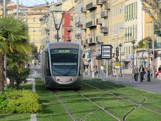 Integrating Transportation and Culture in Nice, France. Looks great, very liveable useable city spaces   oh my fingers are crossed that Edinburgh will be like this when we finish our tram system, when will it be, 100 years from now?