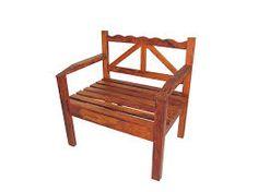 Resultado de imagem para cadeira de madeira area externa