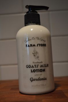I like this recipe!  Father's On The Ground: Making Goat's Milk Lotion