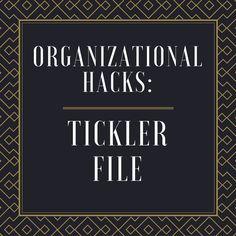 60 Best Tickler File System Images File System