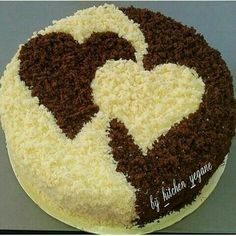 Herzkuchen Food and drink Cake Decorating Videos, Cake Decorating Techniques, Cookie Decorating, Beautiful Cakes, Amazing Cakes, Cake Cookies, Cupcake Cakes, Valentine Cake, Valentine Bouquet