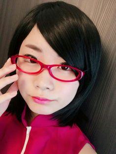 Sarada Uchiha, Boruto, Sarada Cosplay, Naruto Girls, Face Makeup, Fashion, Naruto Cosplay, Moda, Fashion Styles