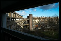 Park Hill, framed by itself. Photograph: David Sillitoe