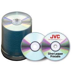 JVC Taiyo Yuden CDRs - 52X, 700MB/80 Min -100 Pack for $22.78