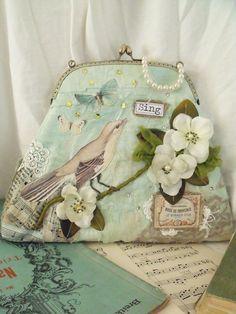Boutique romantic bag handbag purse by Tatter and by TatterAndWild, €47.00