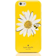 Kate Spade Jeweled Daisy Iphone 6 Case found on Polyvore featuring accessories, tech accessories, items, phone cases and kate spade
