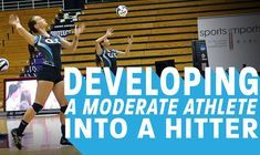 """Quickness is a must-have skill in volleyball. In the """"chase"""" drill, a coach lobs the ball to a hard-to-reach place on the court. Players must chase it down and play it back over the net. Along with developing fast feet, this chaotic drill teaches players to sight a target and adjust their platfo"""