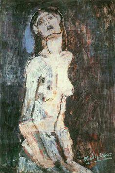 Amedeo Modigliani : Nudo Dolente