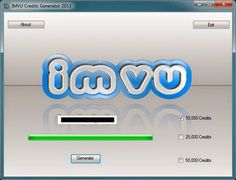 IMVU Credit Generator download 2017 improved version. IMVU Credit Generator - downloaded by the most active gamers. IMVU Credit Generator Downloadable IMVU credit generator is an IMVU cheat for credits. However, this is not the usual type of cheat. It is fair to say that having this IMVU hack for credits