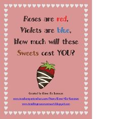 Let your students shop for some sweets with this Valentine's Day Sweet Shop math center!  Students will pick a Shopping Task Card that shows them w...