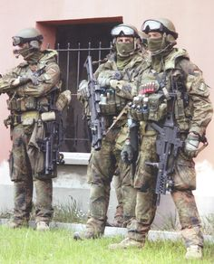Bundeswehr SF ( KSK - Kommando Spezialkräfte)