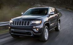 The 2014 Jeep Grand Cherokee Overland 4x4. (Photo: Courtesy of Jeep)