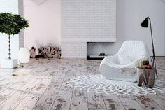 Minden, amit a laminált padlóról tudni akartál… – Hubert Classen Laminat, White Laminate Flooring, Bedroom Flooring, How To Distress Wood, Floor Design, White Oak, Home Furniture, Furniture Ideas, Living Room