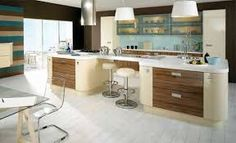 Image result for wenge and cream gloss kitchen