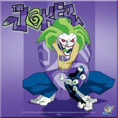 the joker the batman cartoon - Google Search