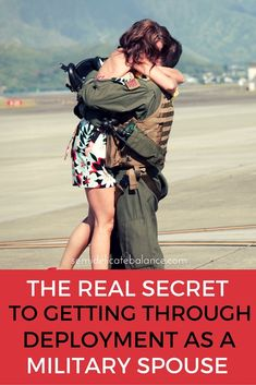 The Real Secret to Getting Through Deployment as a Military Spouse, love this, great reminder needed for evemery deployment