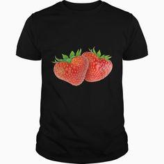Heart shaped strawberries SHIRT
