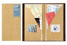 Midori Traveler's Notebook -Standard Size (Refill 020): Amazon.fr: Fournitures de bureau