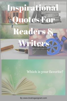 Quotes for people who love to read books or write. Find inspiration. Pin them on your wall. #bookquotes #writingquotes