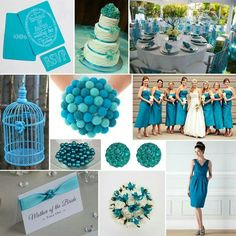 Modern twist or turquoise