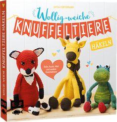 "The whole book ""Wollig-weiche Knuffeltiere häkeln"" contains 28 patterns."