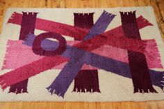 Retro Danish rug