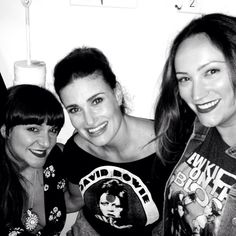 WICKED Trifecta! Eden Espinosa & Shoshanna Bean With Idina Menzel At IF/THEN