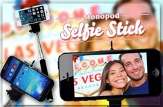 Make Perfect Selfie and Capture Your Special Moments with Tongsis Monopod for Rp79.900 instead of Rp200.000! Get it now at www.Metrodeal.co.id!