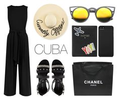 """Pack and Go: Cuba!"" by eva-jez ❤ liked on Polyvore featuring ALDO, FOSSIL, Incase, Chanel, ZeroUV, Eugenia Kim and Packandgo"