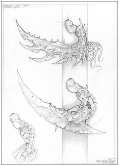 Concepts - Art of Roberto Cirillo - Tyranids