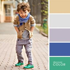 The combination of colors in clothing / Chatter / talk on any topic
