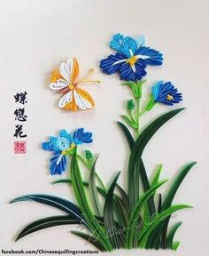 Фото Chinese Quilling.