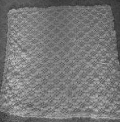 Christening Baby Afghan Free Crochet Pattern