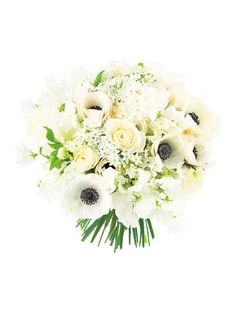パ・ド・ドゥ アネモネやスイートピーなど春の息吹を感じるみずみずしい花を束ねて。