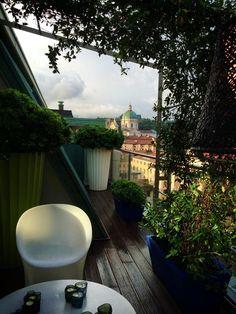 #Terrazza con vista sul centro! #Brescia #dreamhome