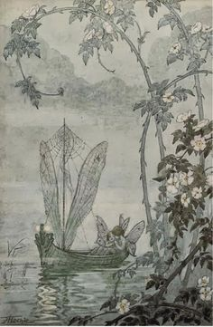 The Fairy Boat ~ Hilda Hechle