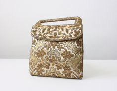 1920's+gold+beaded+silk+bag+by+1919vintage+on+Etsy,+$224.00