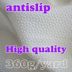 white Antislip fabric non slip for cushion carpet accessories Anti-skid cloth  Sold BY THE YARD Free shipping!!!  $8,86
