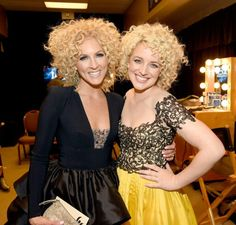 """When curls collide! """"Camberly"""" backstage at the #acms"""