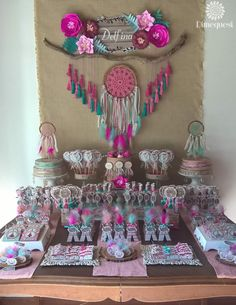 Boho Chic Quincea era Party Ideas Photo 1 of 28 Wild One Birthday Party, Third Birthday, 3rd Birthday Parties, Birthday Ideas, Fiesta Baby Shower, Baby Shower Parties, Baby Shower Tribal, Quinceanera Party, Party Planning