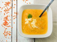 Crema de zanahorias, lentejas y puerro | L'Exquisit