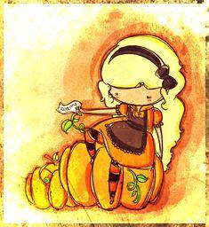 alice in pumpkinland by agusmp.deviantart.com on @deviantART