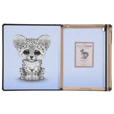 >>>Low Price          Cute Baby Snow Leopard Cub on Light Blue iPad Covers           Cute Baby Snow Leopard Cub on Light Blue iPad Covers we are given they also recommend where is the best to buyHow to          Cute Baby Snow Leopard Cub on Light Blue iPad Covers lowest price Fast Shipping ...Cleck Hot Deals >>> http://www.zazzle.com/cute_baby_snow_leopard_cub_on_light_blue_case-256713672921212072?rf=238627982471231924&zbar=1&tc=terrest