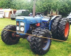 Fordson Super Dexta Roadless Four Wheel Drive Tractor