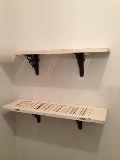 Shutter Shelves - Set 1