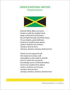 Jamaica National Anthem